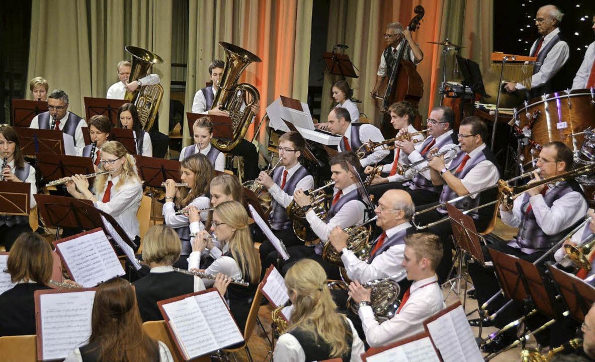 Stephanskonzert der Stadtmusik unter Dirigent Stephan Rinklin  | Foto: Sylvia-Karina Jahn