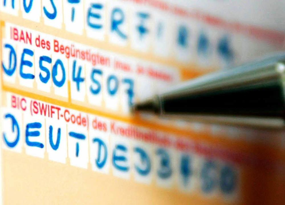 Die Umstellung auf das Zahlungssystem ...ehmen ab dem 1. Februar verpflichtend.  | Foto: Fredrik von Erichsen