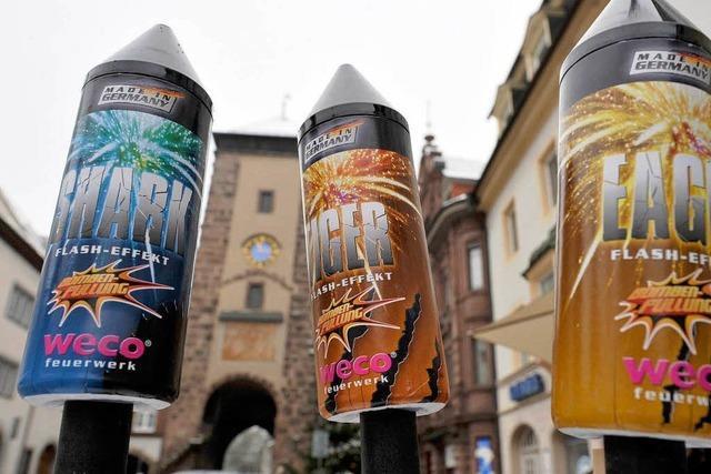 In einigen Städten im Südwesten gilt ein Feuerwerksverbot
