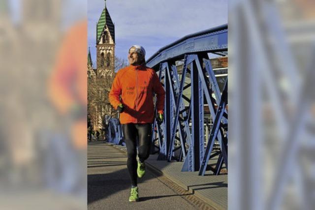 Winterjoggen: Quasseltempo hilft bei der Atmung