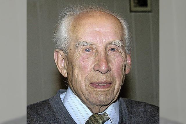 Ältester Bürger Tannenkirchs