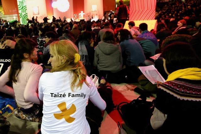 Taizé-Treffen: Kirchen betonen Stellenwert der Ökumene