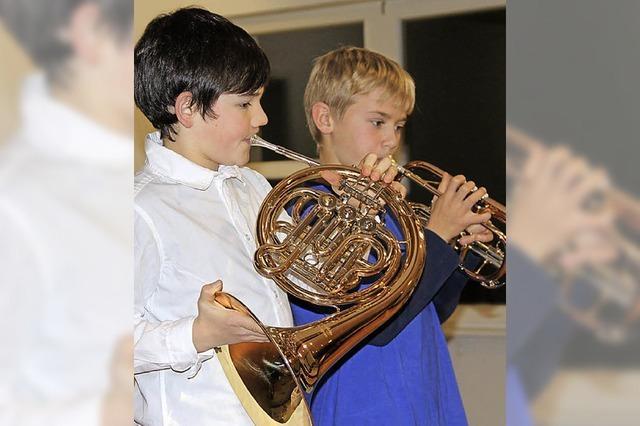 Vorspiel beweist die Fortschritte der Jungmusiker