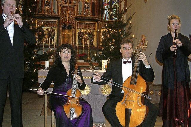 Barockmusik erfreut paarweise