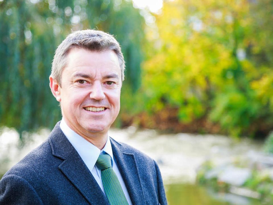 Volker Kieber startet 2014 in sein neues Leben als Bürgermeister.  | Foto: Dominic Rock