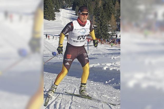 Silvesterlauf am Herzogenhorn: Der Tag der Biathleten