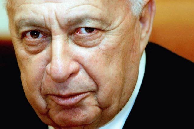 Organversagen bei Israels Ex-Ministerpräsident Scharon