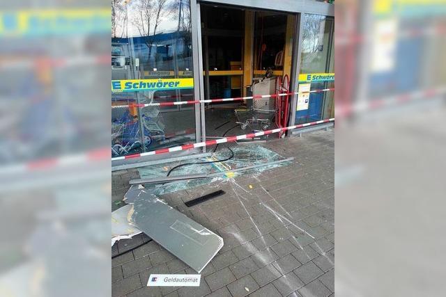 Endinger Geldautomaten-Raub: Spur der Täter führt ins Elsass