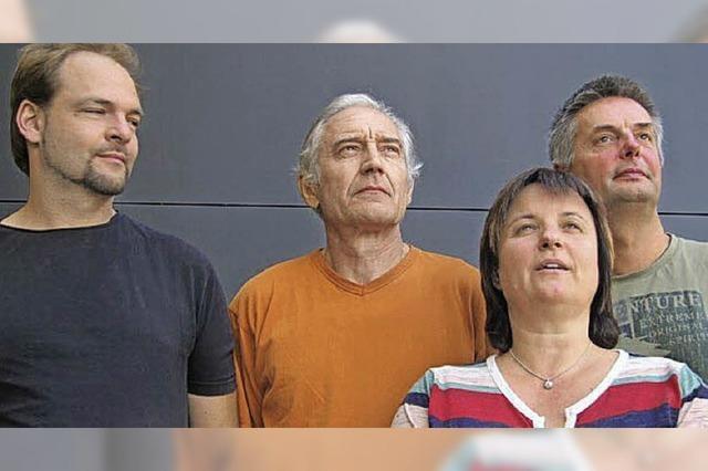 Albin Brun Alpin Ensemble spielt im Ateliermuseum Rehmann in Laufenburg (Schweiz)