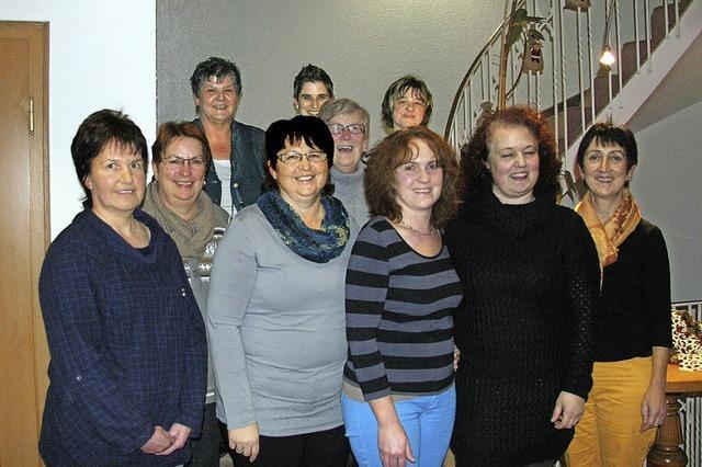 Burkheimer Landfrauen mit neuem Führungsteam