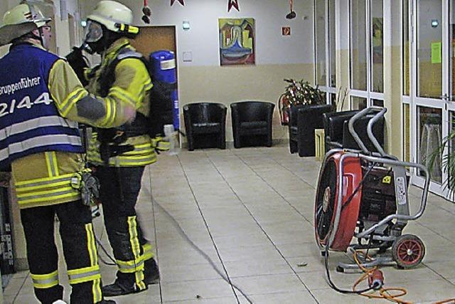 Feueralarm im Pflegeheim