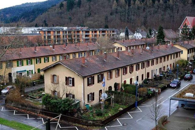 Stadtbau will Knopfhäuslesiedlung sanieren