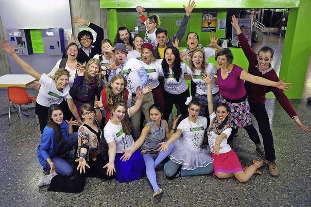 Uni Freiburg: Mondo Musical Group vor Premiere