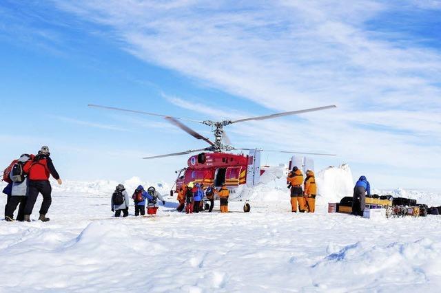 Rettung aus dem Eis: Wer bezahlt die millionenteure Aktion?