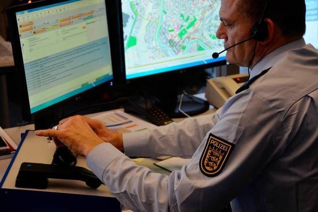 Die neue Polizeizentrale Offenburg: Alle vier Minuten ein Notruf