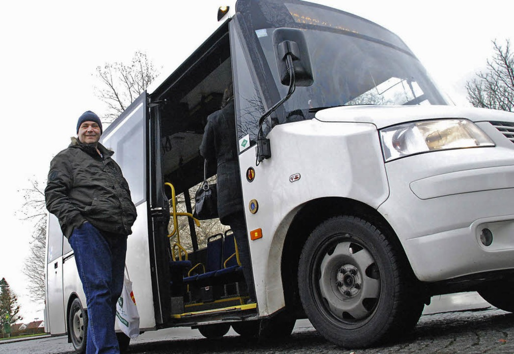 Fährt kaum einmal leer: der grenzüberschreitende Stadtbus     Foto: Staub