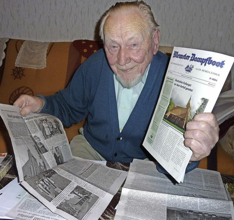 Johann Sköries' Arbeit für die K...en dortigen Medien große Anerkennung.     Foto: Archivfoto: Karlernst Lauffer