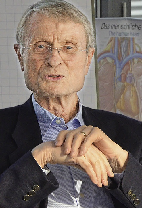 Peter Osypka gibt seine Geschäftsantei... Unternehmen an  die Stiftung weiter.     Foto: Ingrid Böhm-Jacob