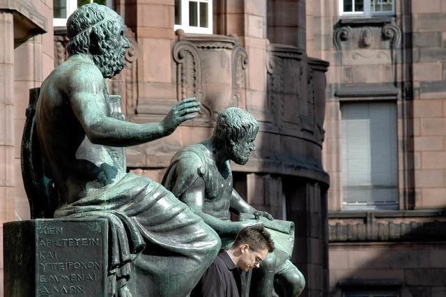 Vizerektor Heiner Schanz tritt gegen Rektor Hans-Jochen Schiewer an
