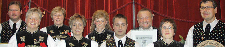 Die Geehrten (von links): Wolfgang Bau...ler, Annette Mayer und Herbert Kaiser   | Foto: Christiane Sahli