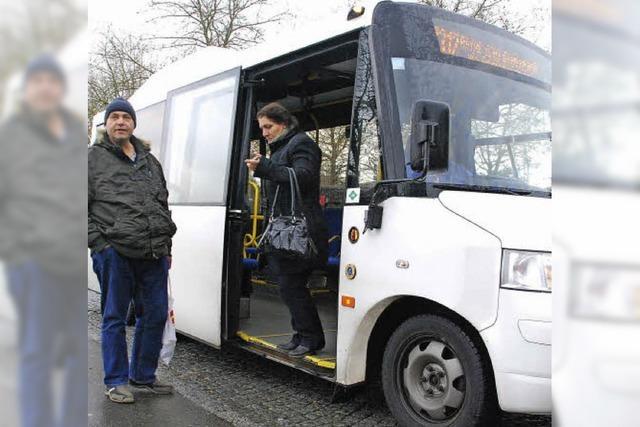 Stadtbus bleibt in der Erfolgsspur - und wird immer beliebter
