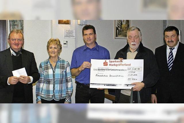 Spenden für Taifunopfer und Senioren