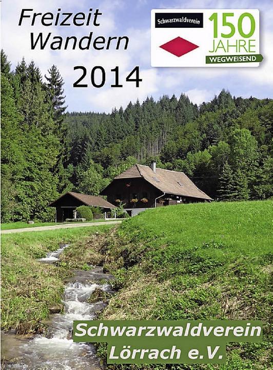 Das Wanderprogramm des Schwarzwaldvere...urRepro>Paul Schleer</BZ-FotoNurRepro>    Foto: Paul Schleer