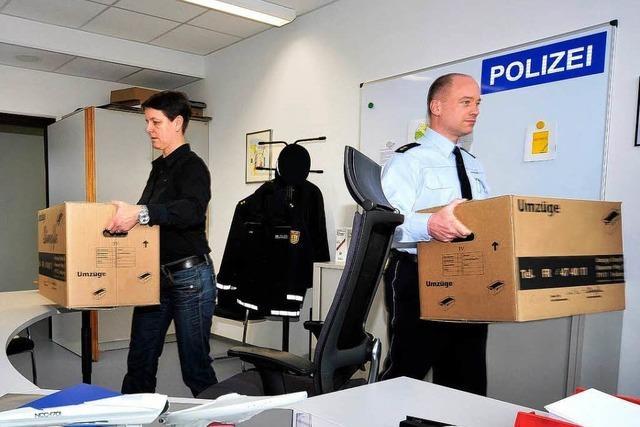 Arbeitsbeginn im neuen Polizeipräsidium Freiburg