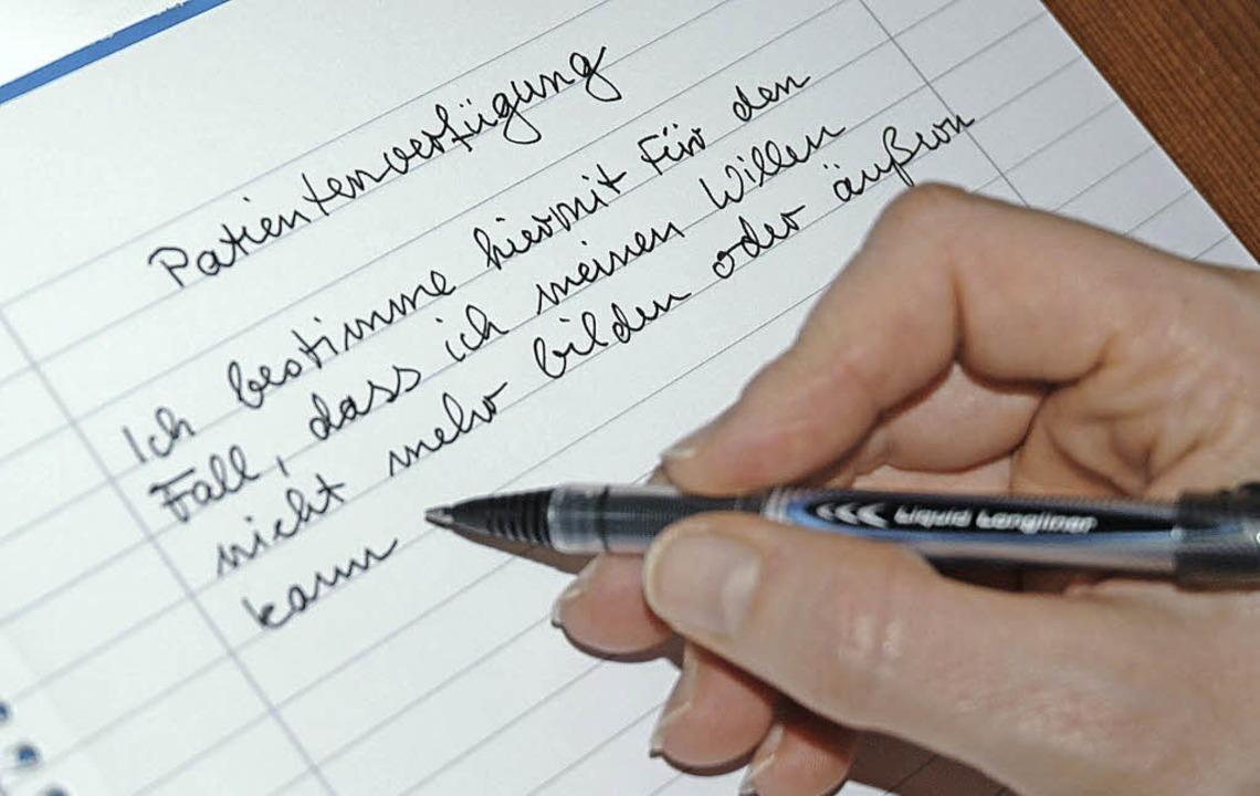 Klare Aussagen sind wichtig.  | Foto: Britta Wieschenkämper