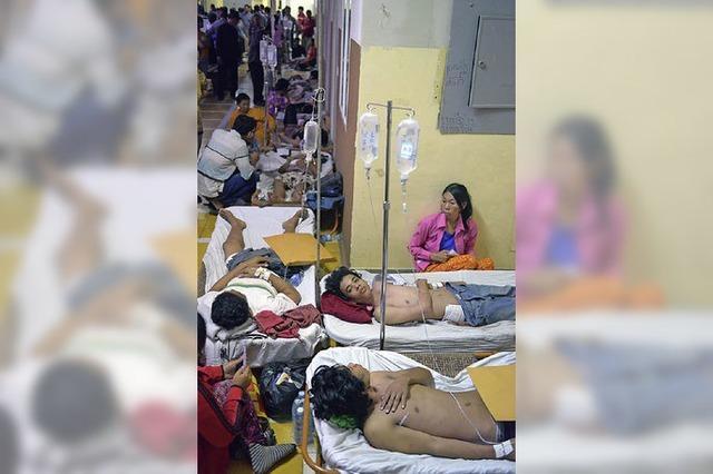 Kambodschas Armee schießt Textilarbeiter nieder