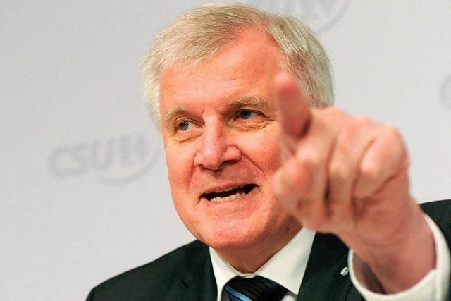 Seehofer wirft SPD im Zuwanderungsstreit Heuchelei vor