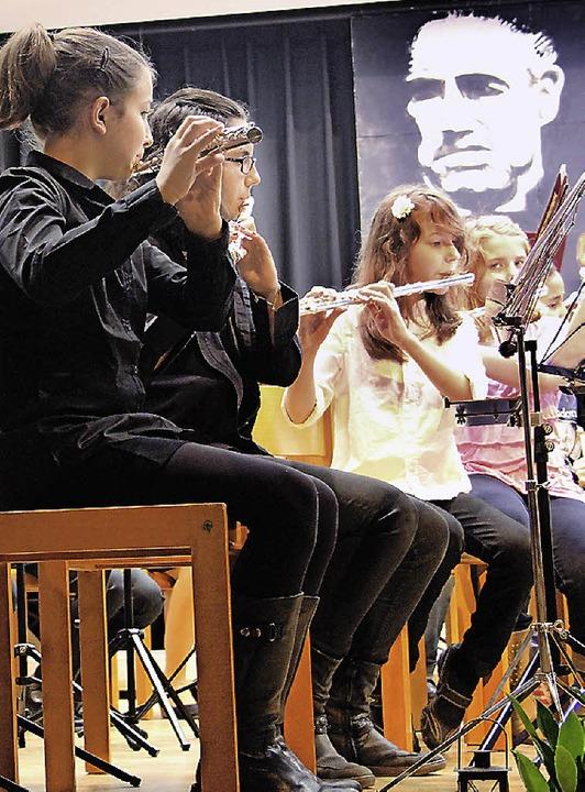 Auch die jungen Musiker aus Kollnau zeigten ihr Können beim Dreikönigskonzert.  | Foto: Stefanie Sigmund