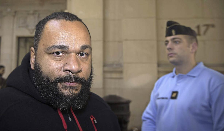 Dieudonné Mbala Mbala im vergangenen Dezember in Paris   | Foto: AFP