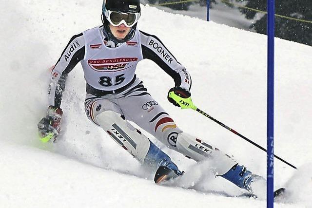 Alexander Vetter rast in Bad Wiessee aufs Podest