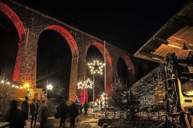 Weihnachtsmarkts in der Ravennaschlucht wird immer beliebter