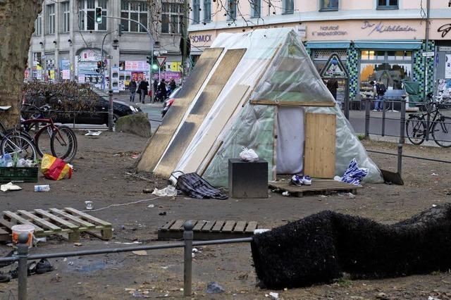 Ex-Flüchtlingscamp in Kreuzberg löst Krise im Senat aus