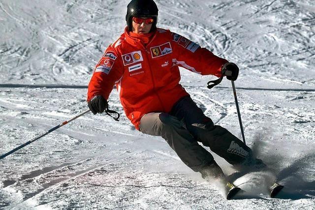 Schumacher fuhr mit normaler Geschwindigkeit