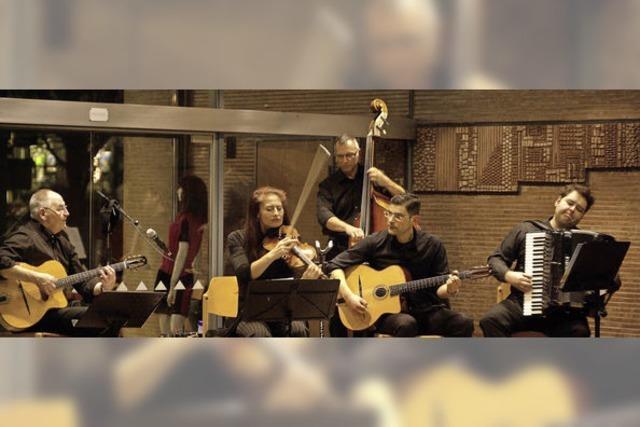Ein Abend voller Gypsy-Jazz