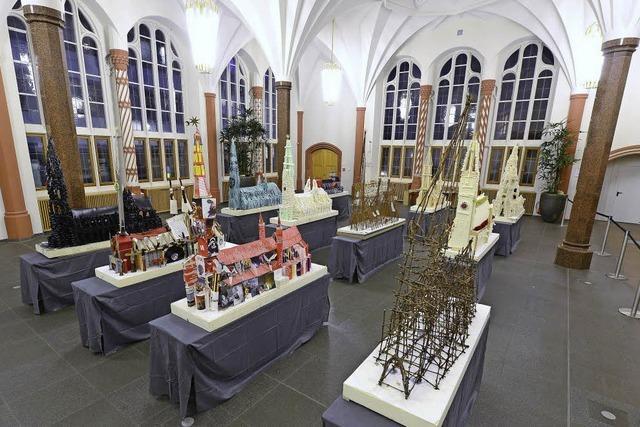 Das Münster aus Wolle, Rebzweigen, Kohle oder ZMF-Katalogen