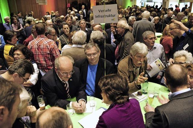 Landtagsfraktion der Grünen auf Tuchfühlung mit den Wählern