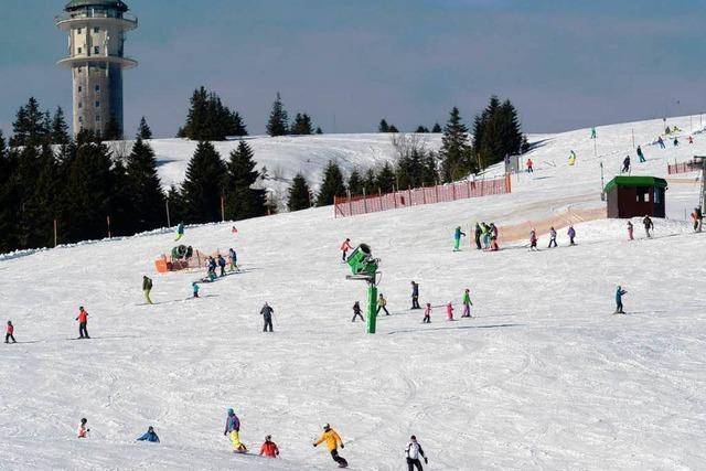 Ski-Saison auf dem Feldberg läuft überdurchschnittlich gut