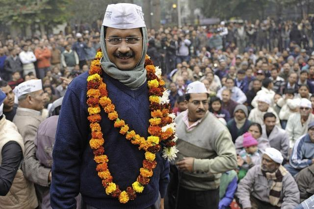 Der Messias der indischen Politik