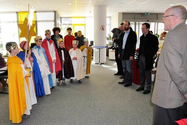 Sternsinger sammeln in Rheinfelden 37 000 Euro