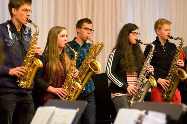 Wichtige Konzerte für das Freiburger Schüler Jazzorchester