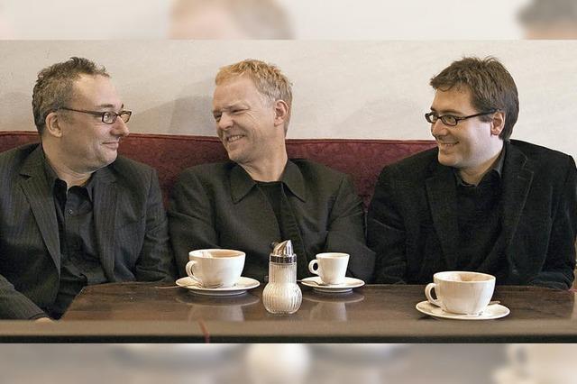Das Freiburger Jazztrio spielt in Kirchzarten