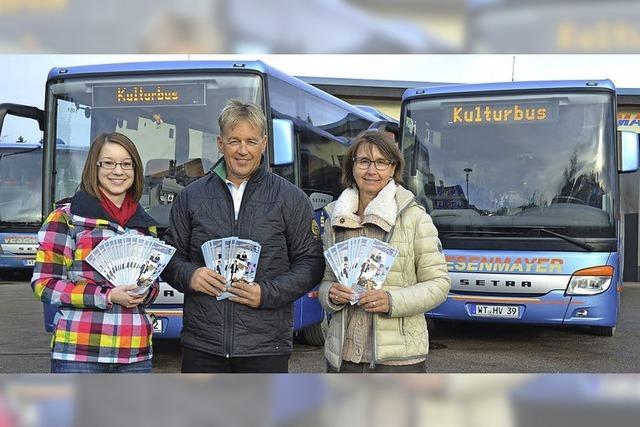 Kulturbus kommt richtig auf Touren