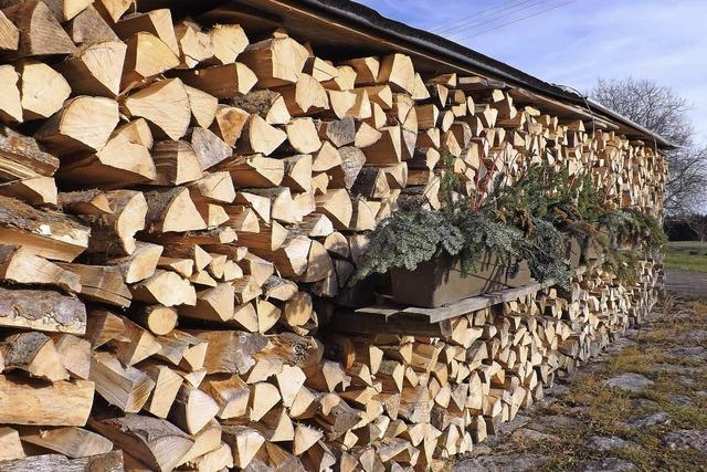 Brennholz wird zum knappen Gut