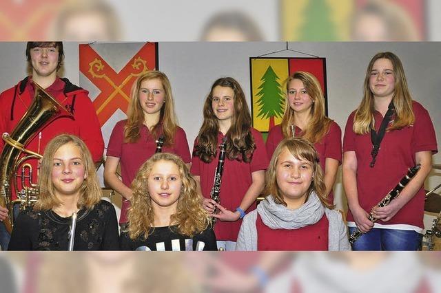 Jungmusiker beweisen ihr Können