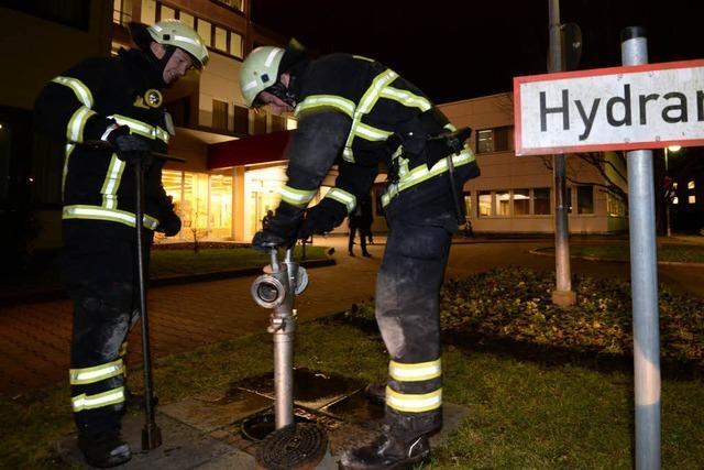 Brand beim Diakoniekrankenhaus – starke Rauchentwicklung