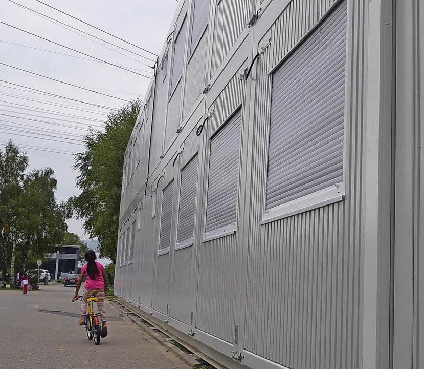 Containerunterkunft in Lörrach    | Foto: peter Gerigk